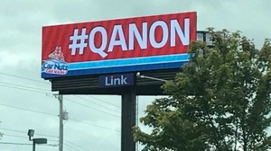 Cleveland Grover Meredith rented this billboard to promote the -QAnon movement.jpg