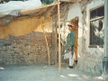 A guard at Osama bin Laden's Tora Bora compound in 1996.jpg