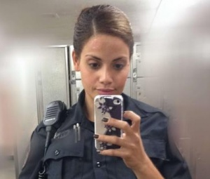 Officer Sepulveda does not wear makeup when on duty.